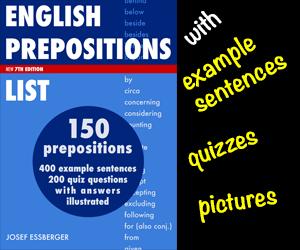 preposition list grammar englishclub - 300×250
