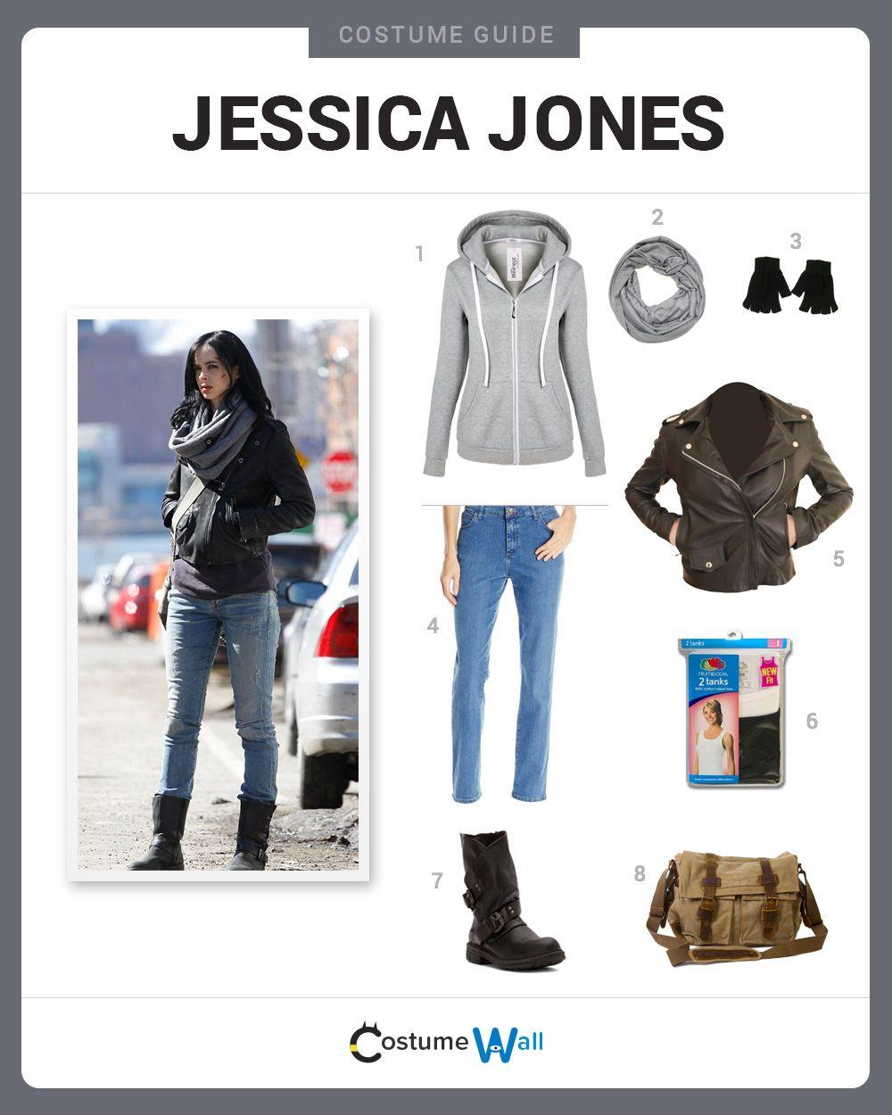 Dress Like Jessica Jones | Jessica jones, Netflix and Plays