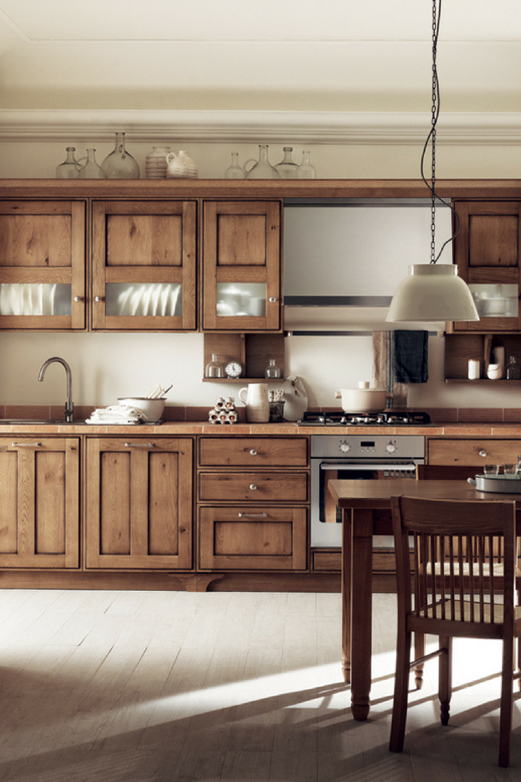 country kitchen chicago landhausk 252 chen aus holz bilder amp ideen f 252 r rustikale 2756