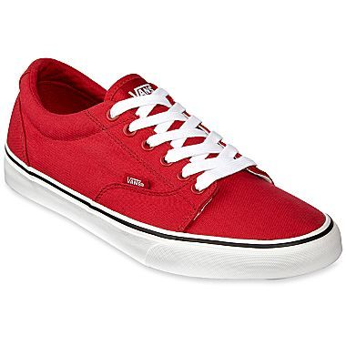bde3e46728171a Vans Kress Mens Shoes - red shoes go great with black jeans with white gray  top add another pop of red with a red watch or belt