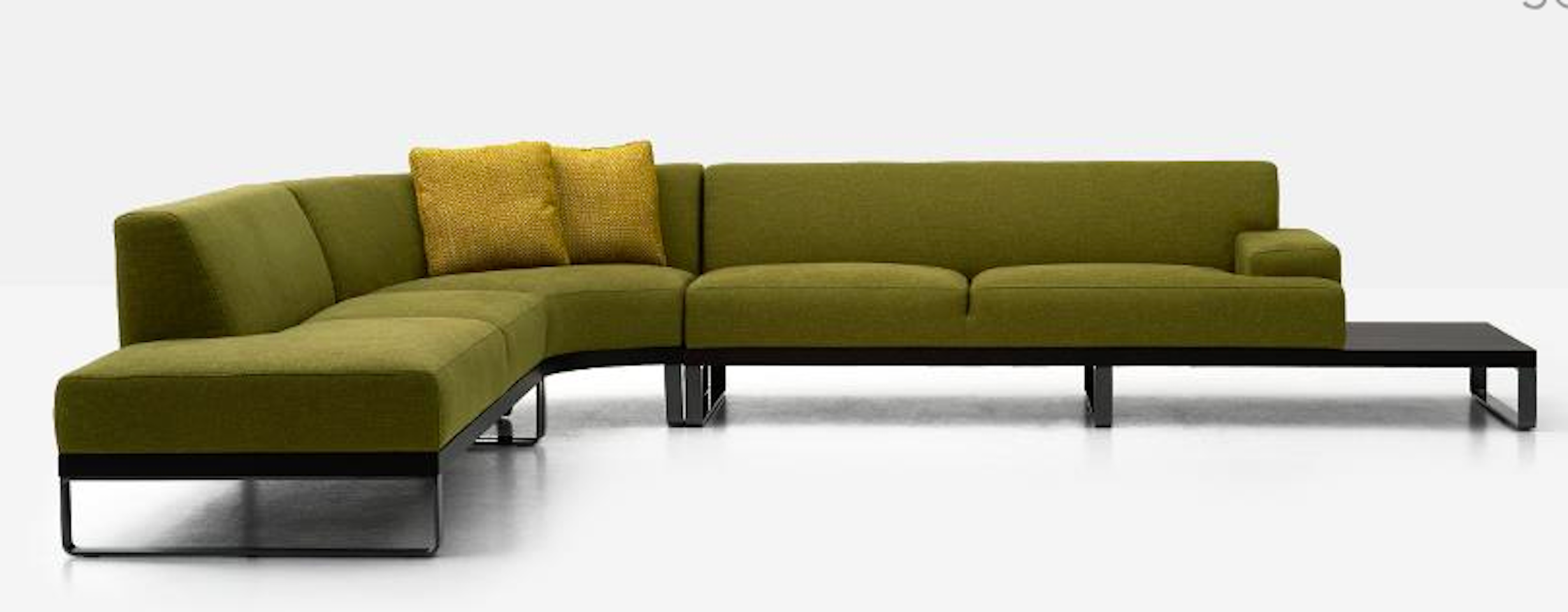 Sodeo By Dellarobbia With Images Modular Sectional Sofa Conference Room Design Luxury Furniture Showroom