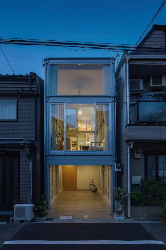 Narrow House Designs In Japan on houses in tokyo japan, narrow house interior design, small apartment building in japan, micro houses in japan, tall skinny building in japan,