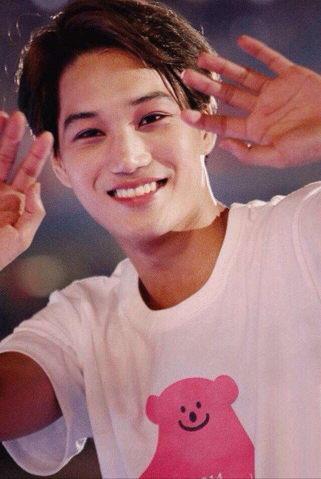 When You Smile Sunshine Kim Jongin Kai Exo 3 Exo 카이 김종인