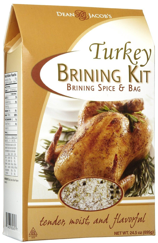 Dean jacobs turkey brine kit 245 oz