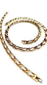 Stainless Steel 2 Tone I LOVE YOU Hugs /& Kisses Set XO Necklace /& Bracelet 18/'/'