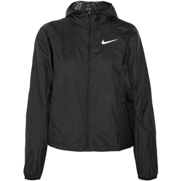 Nike Shield Racer hooded shell jacket ( 87) ❤ liked on Polyvore featuring  jackets abe6c1b3b