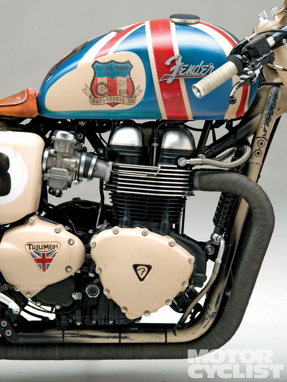 Sucker Punch Sally S Cafe Racer Triumph Bikes Triumph Thruxton