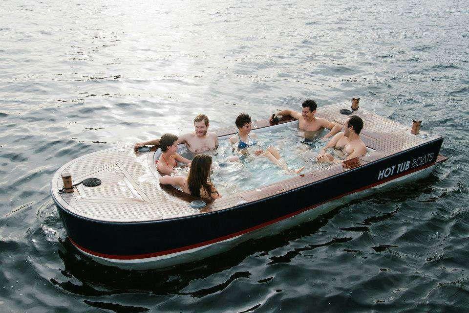 Hot tub boat httpakamsn3jzve via facebook with