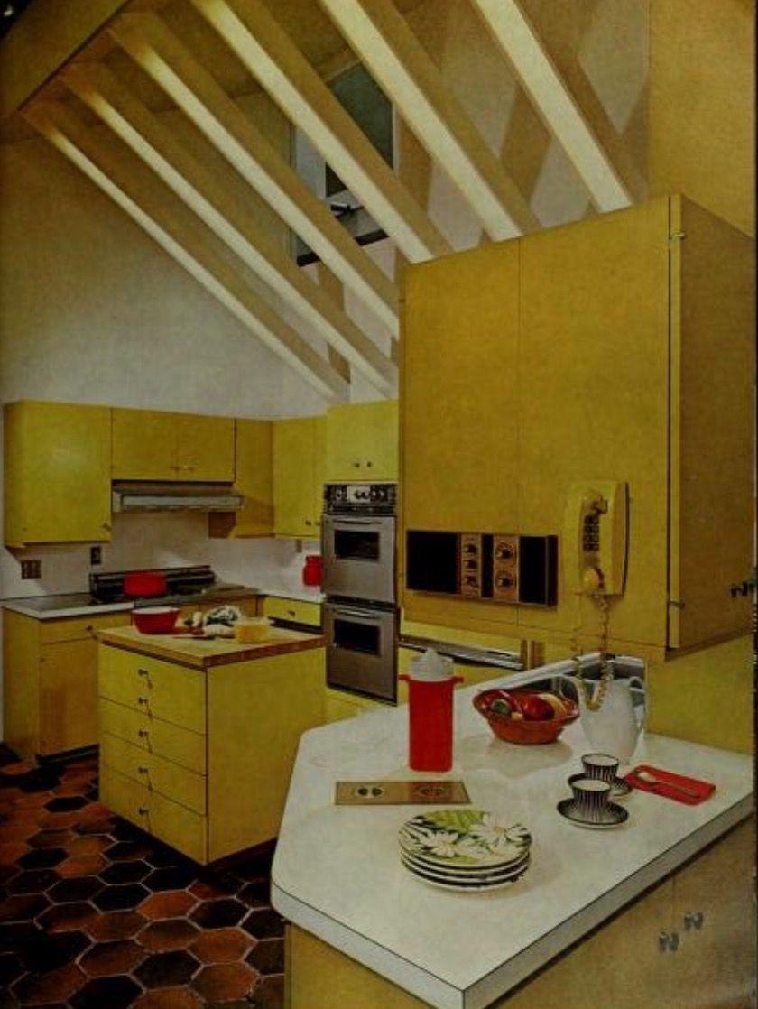 Magnífico Cocinas Amarillas Ideas Ornamento Elaboración Festooning ...