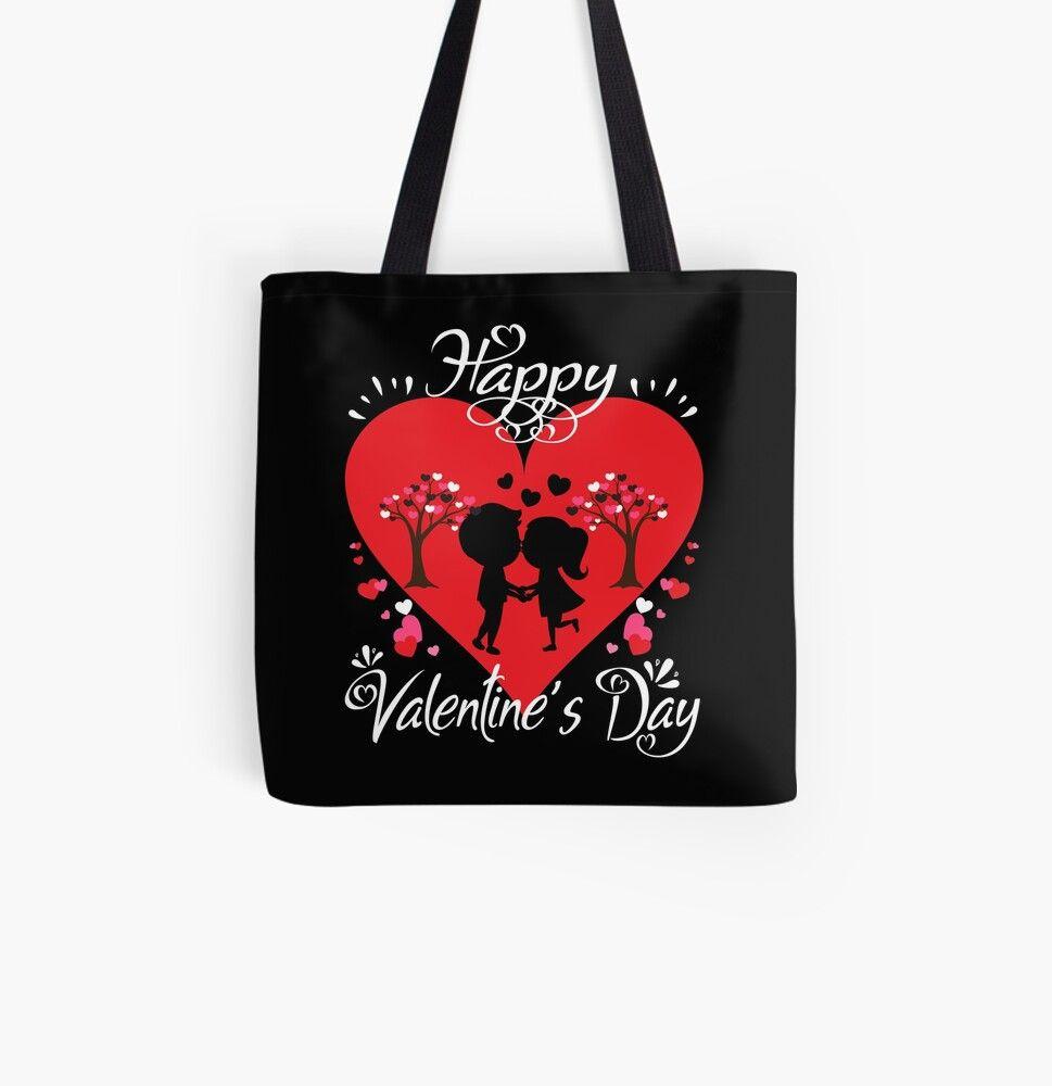 Happy Valentines Day Valentines Day Tote Bag