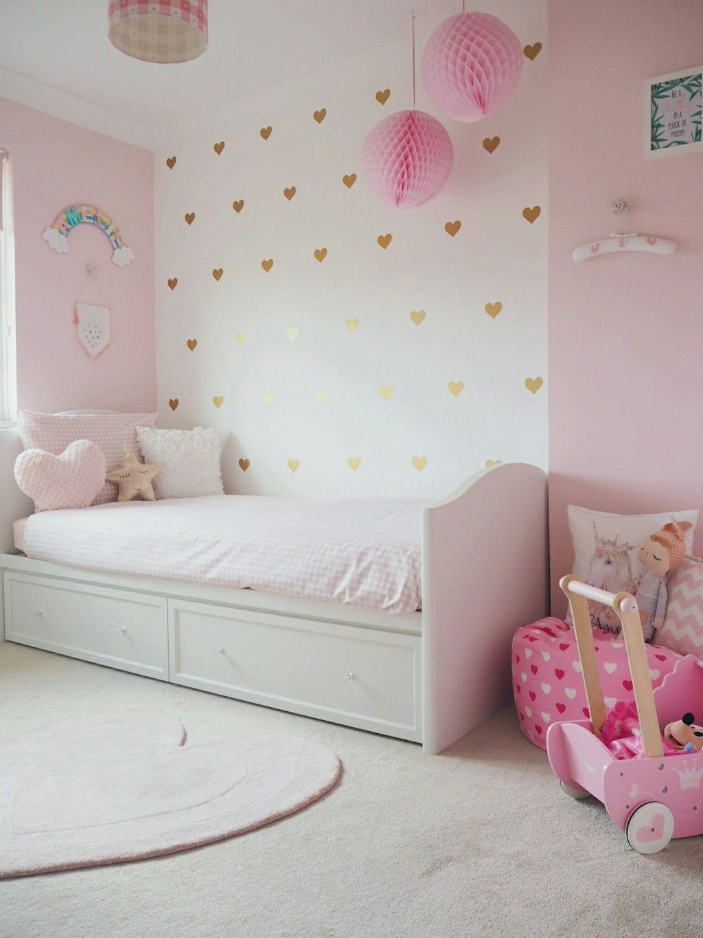 Children Bedroom Ideas To Enjoy Their Childhood Days Home To Z Girly Bedroom Toddler Bedroom Girl Toddler Bedrooms Toddler girls bedroom ideas