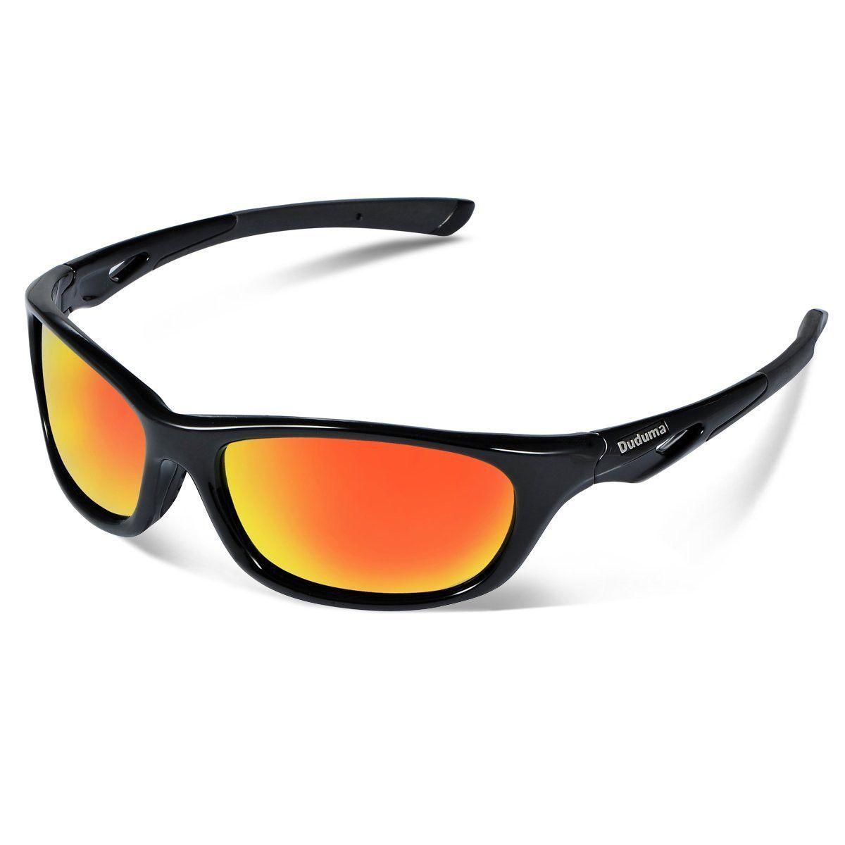 ba3a7a68e3 Duduma Polarized Sports Sunglasses for Men Women Baseball Running Cycling  Fishing Driving Golf Unbreakable Frame Du646