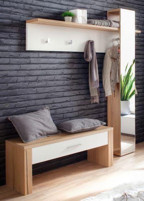 Garderobe Taro | Klassisch elegant zeigen sich die Flurmöbel in Weiß ...