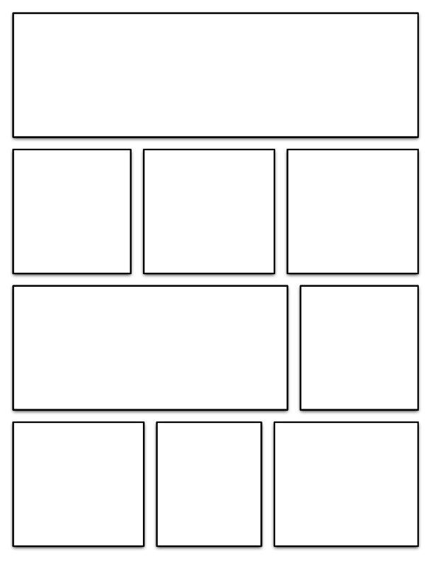 graphic novel template | Exhibits: Belle Yang | Pinterest | Novels