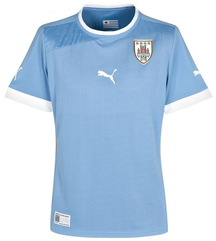 1d8cdc112470c Uruguay (Asociación Uruguaya de Fútbol) - 2012 2013 Puma Home Shirt ...