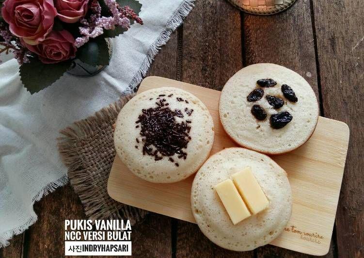 Resep Pukis Vanilla Ncc Versi Bulat Pr Pukis Oleh Indry Hapsari Resep Makanan Cemilan Vanilla
