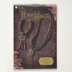"Book, ""Royal Boheme�"" by Blue Moon Beads�. Sold individually."