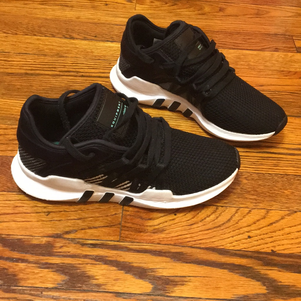 pretty nice 1eb4a 57ac0 adidas Shoes | Sz 7.5 Adidas Eqt | Color: Black/White | Size ...