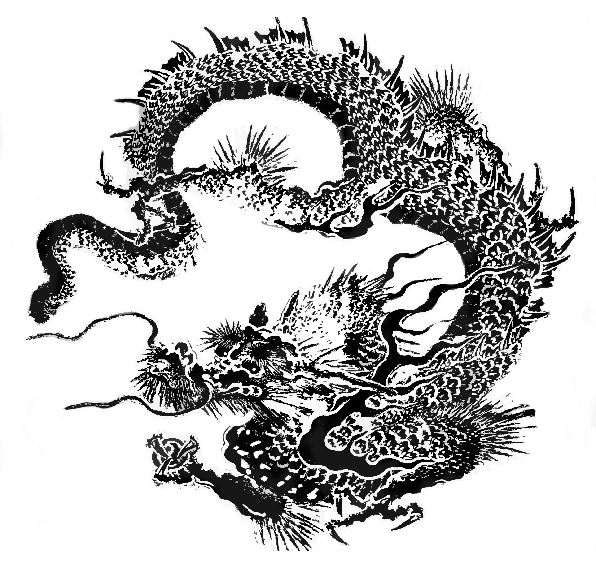 Traditional Japanese Dragon Art Japanese Dragon Dragon Art Traditional Japanese Dragon