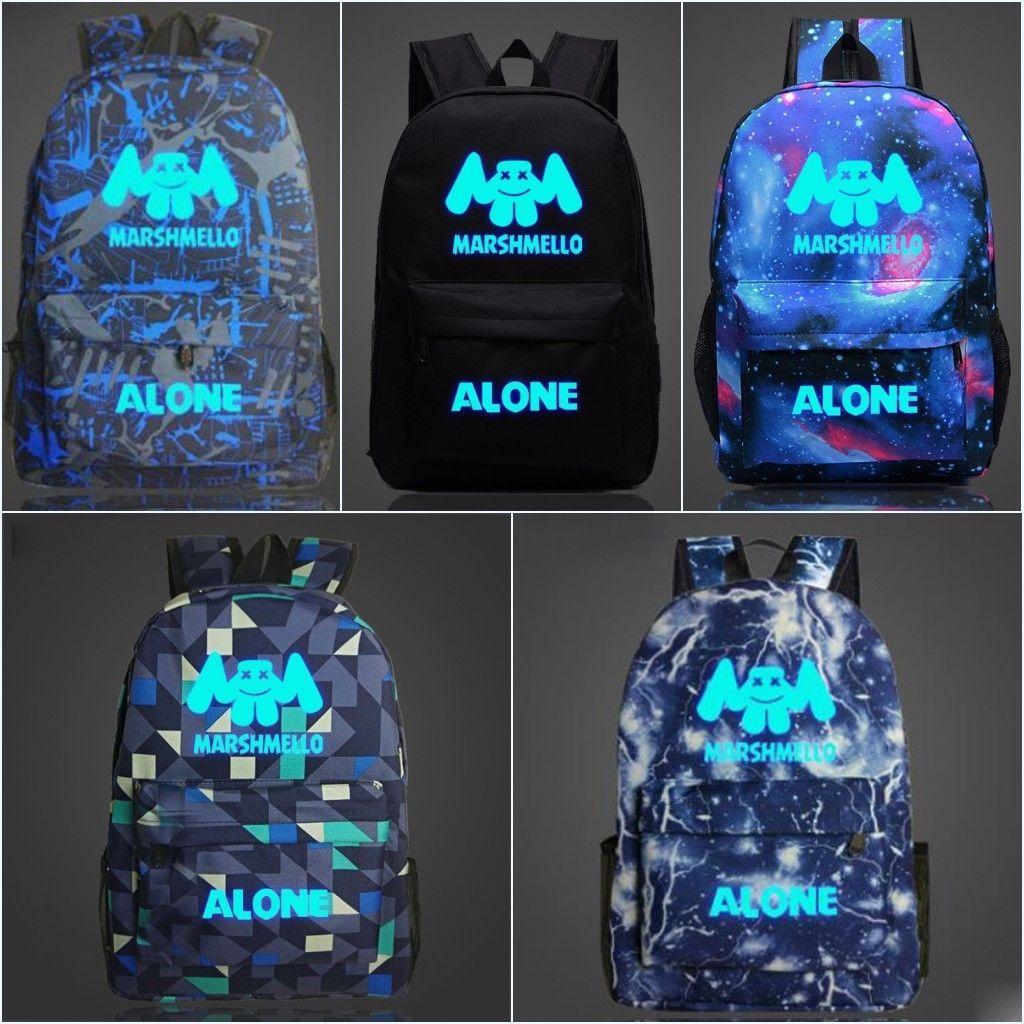 Backpack youth student laptop rucksack travel bag