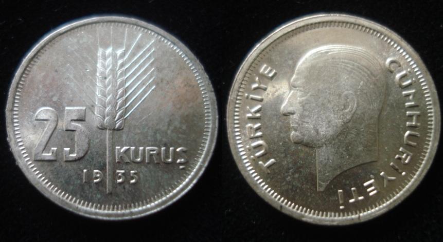 1935 ga ma a 25 kurua a a ll 75 tl