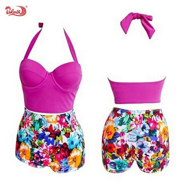 ad6e19c832008 Sexy New Leopard Cow Print Tassels Bikini Set Women Swimwear Push Up Swimsuit  Bathing Suit Beachwear