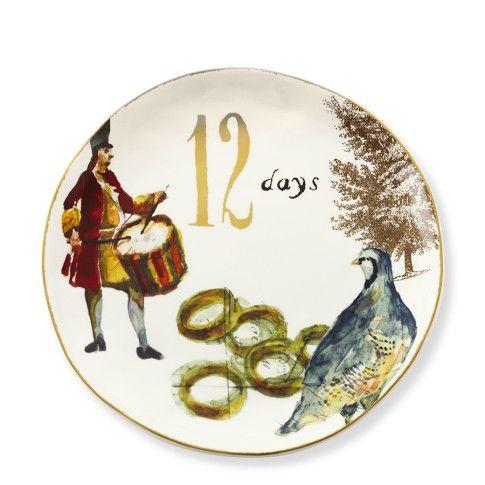12 Days of Christmas Dinner Plate  sc 1 st  Pinterest & 12 Days of Christmas Dinner Plates at Williams-Sonoma!   wish-n ...