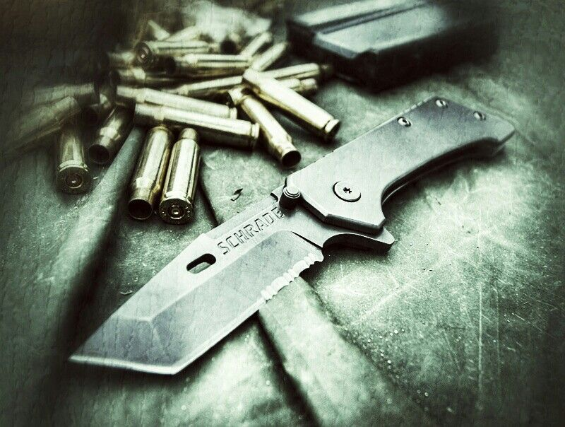 Schrades SCH301S locking tanto  Very rugged piece of kit  Check out