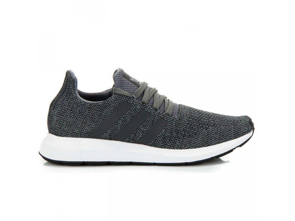on sale 3f68b d83e3 Pánske tenisky sivé Adidas Swift Run  NAJ.SK