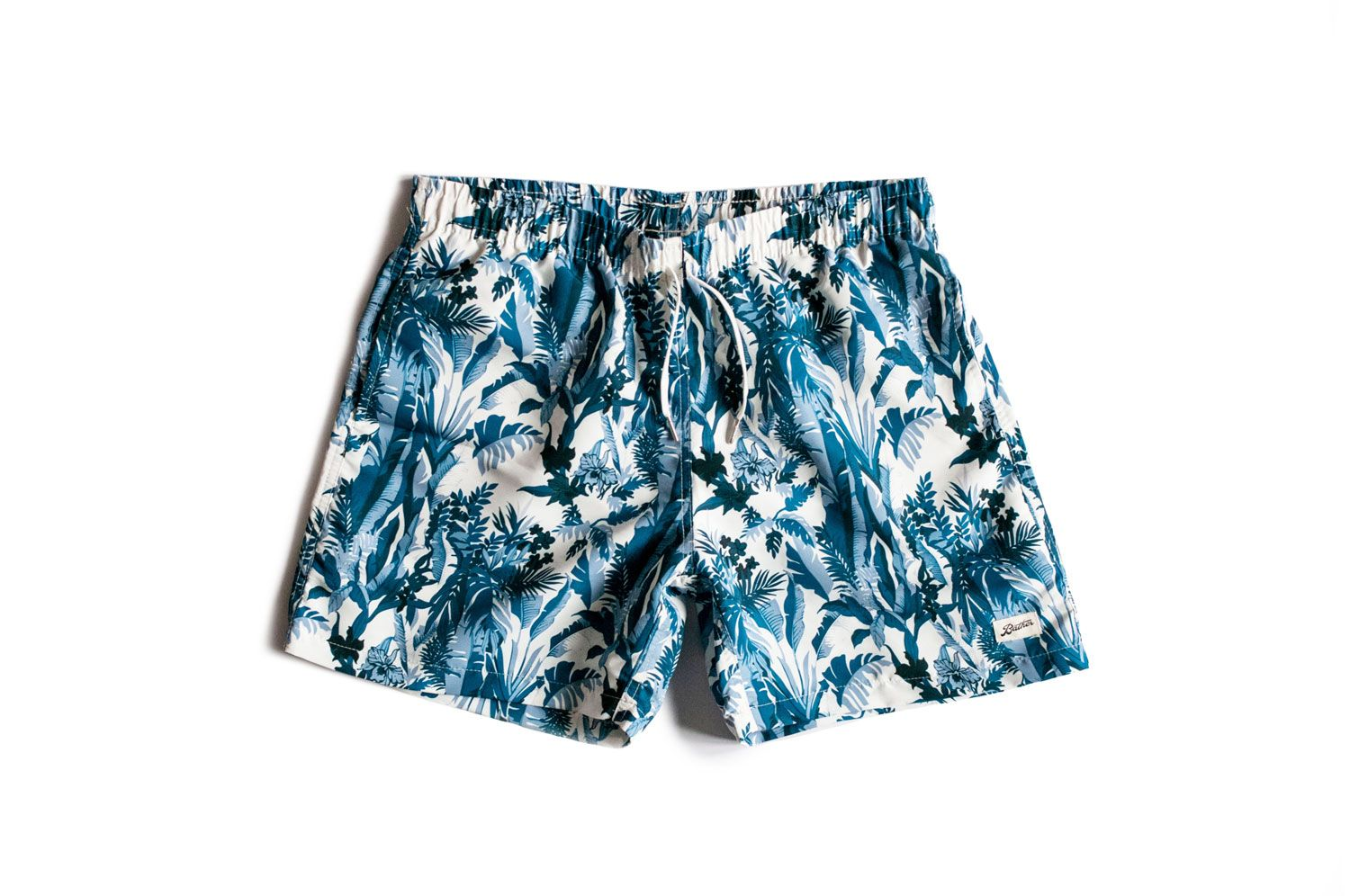 ba384fb5cd Blue Tropical Forest Swim Trunk in 2019   Products   Swim trunks ...