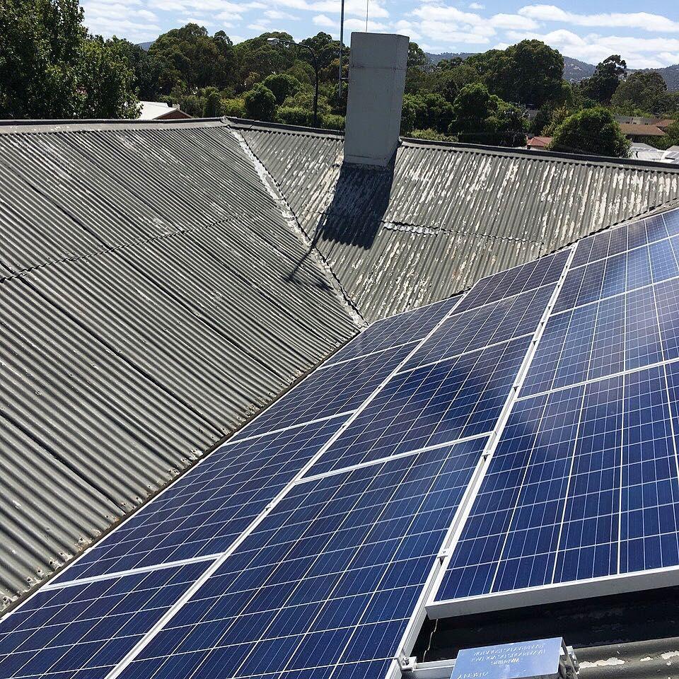 52KW SOLAR SYSTEM - 193 PANELS INSTALLED || ROBIN HOOD HOTEL Norwood ...