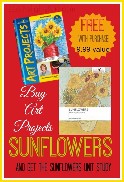 October Special Sunflower Art Projects dvd from See the Light