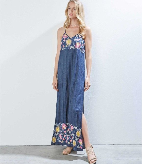 87271c69fb1 Karen Kane Embroidered Maxi Dress