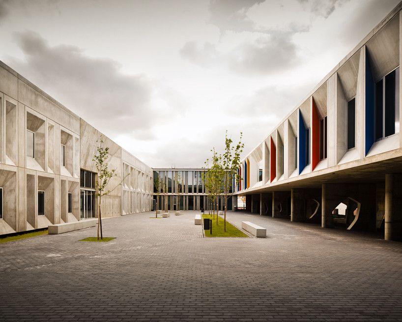 Gallery Of Braamcamp Freire Cvdb Arquitectos 11 Arquitetura De Escolas Escola Secundaria Escola