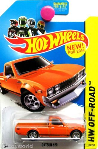 Datsun 620 Pickup 2014 Hot Wheels HW Off-Road Series #139/250 Orange