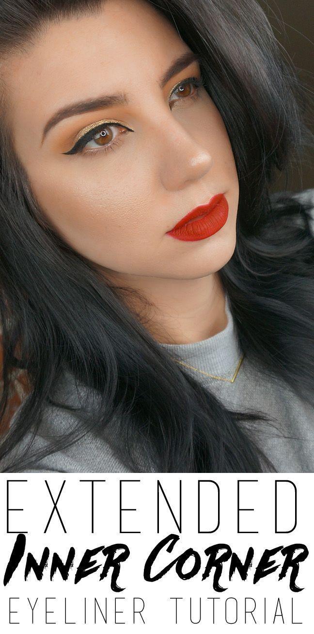 Eyeliner tutorial for the inner corner - -