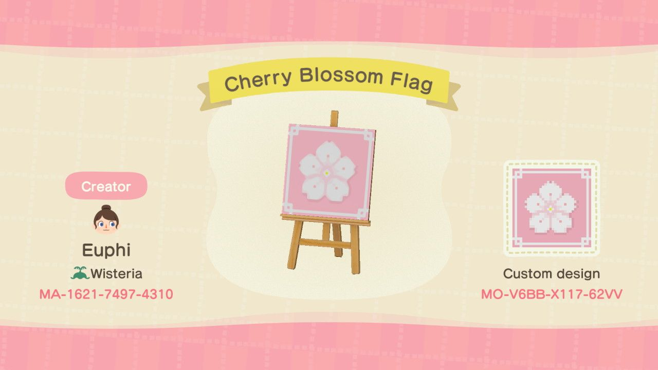 Sakura Flag Animal Crossing Funny Animal Crossing Animal Crossing 3ds