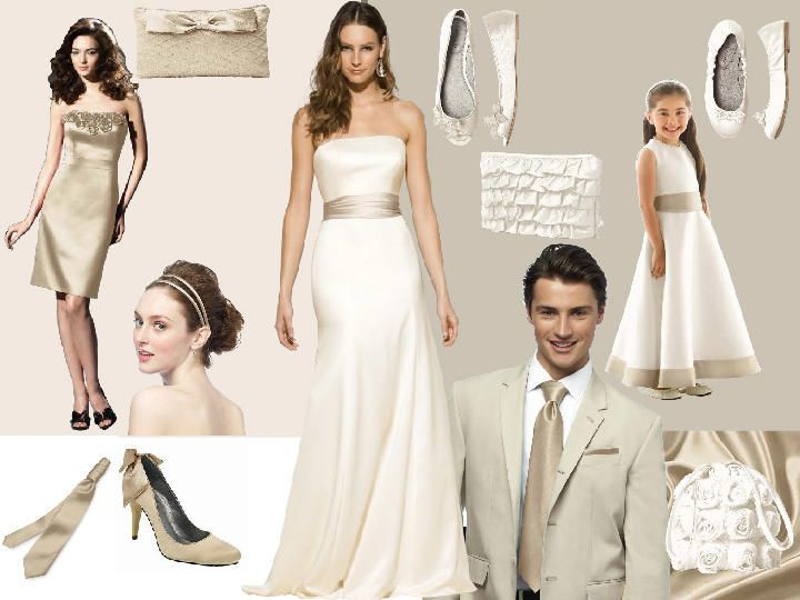 Wedding Dresses with Ties