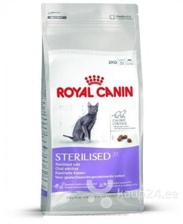 Kassitoit Royal Canin Cat Sterilised 2 Kg Hind Dry Cat Food Cat