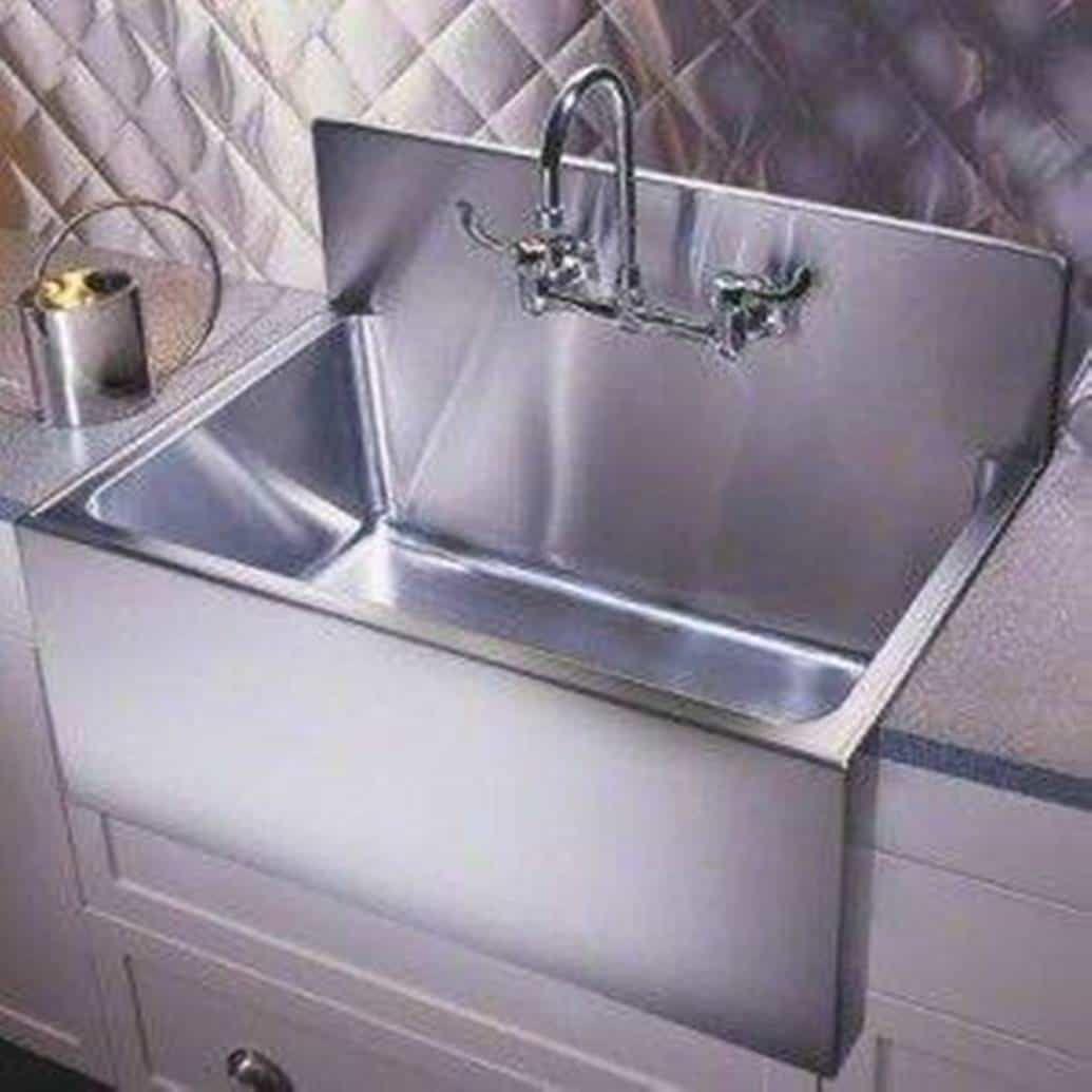 Kitchen Kitchen Trendy Apron Sink Stainless Steel Kitchen