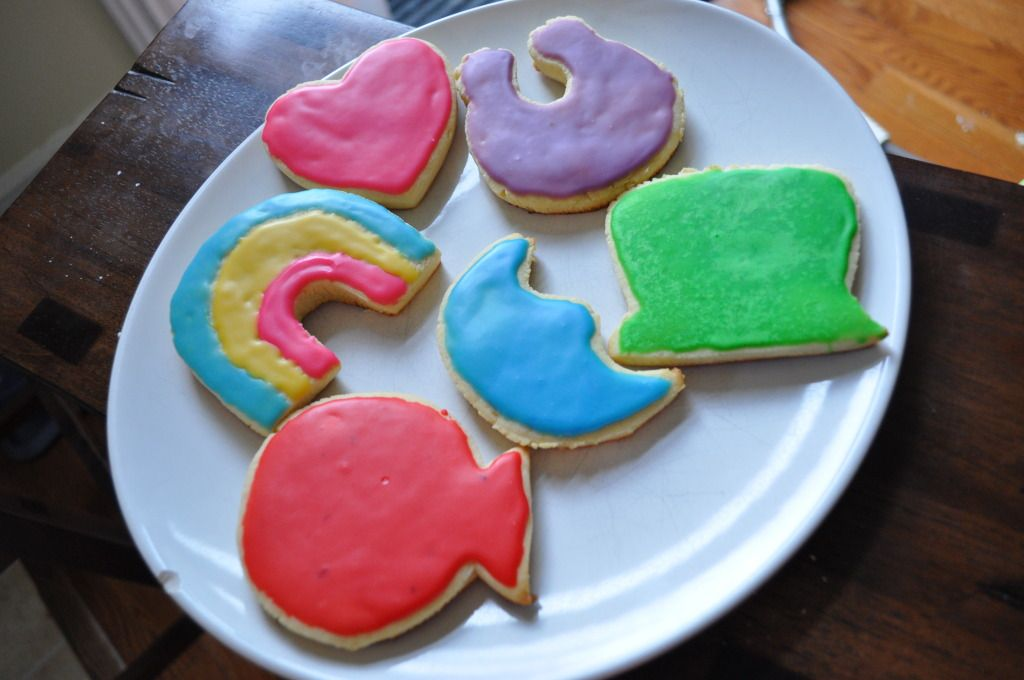 Lucky Charms Sugar Cookies for St. Patricks Day!