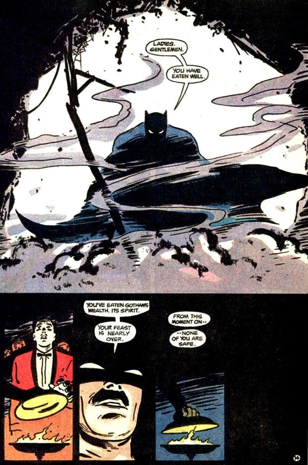 Batman: Year One  art by David Mazzucchelli