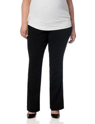 82cdf6b71163c Plus Size Secret Fit Belly boot cut maternity pants