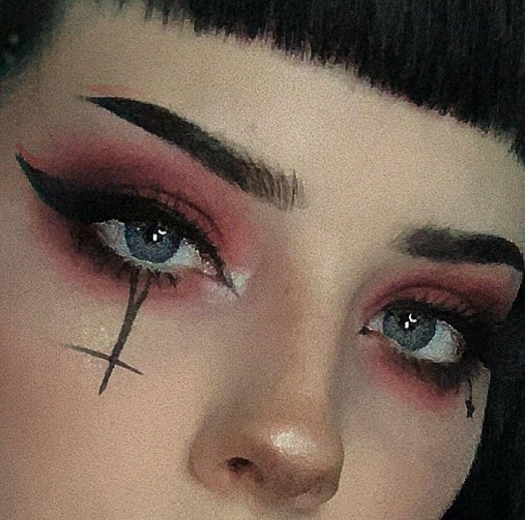 Pin By Moose X On Goth Edgy Makeup Rock Makeup Goth Makeup