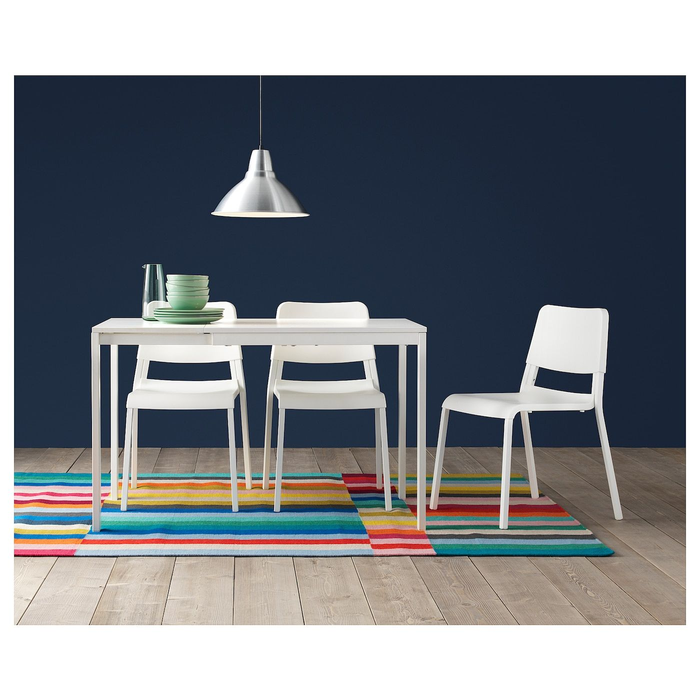 Ikea Extendable Glass Dining Table