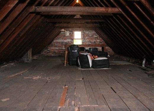 A Frame Attic Before And After Reno What Was Once A Dark Raw Storage Space Is Now Our Light Filled Sanctuary Attic Renovation Attic Flooring Attic Remodel