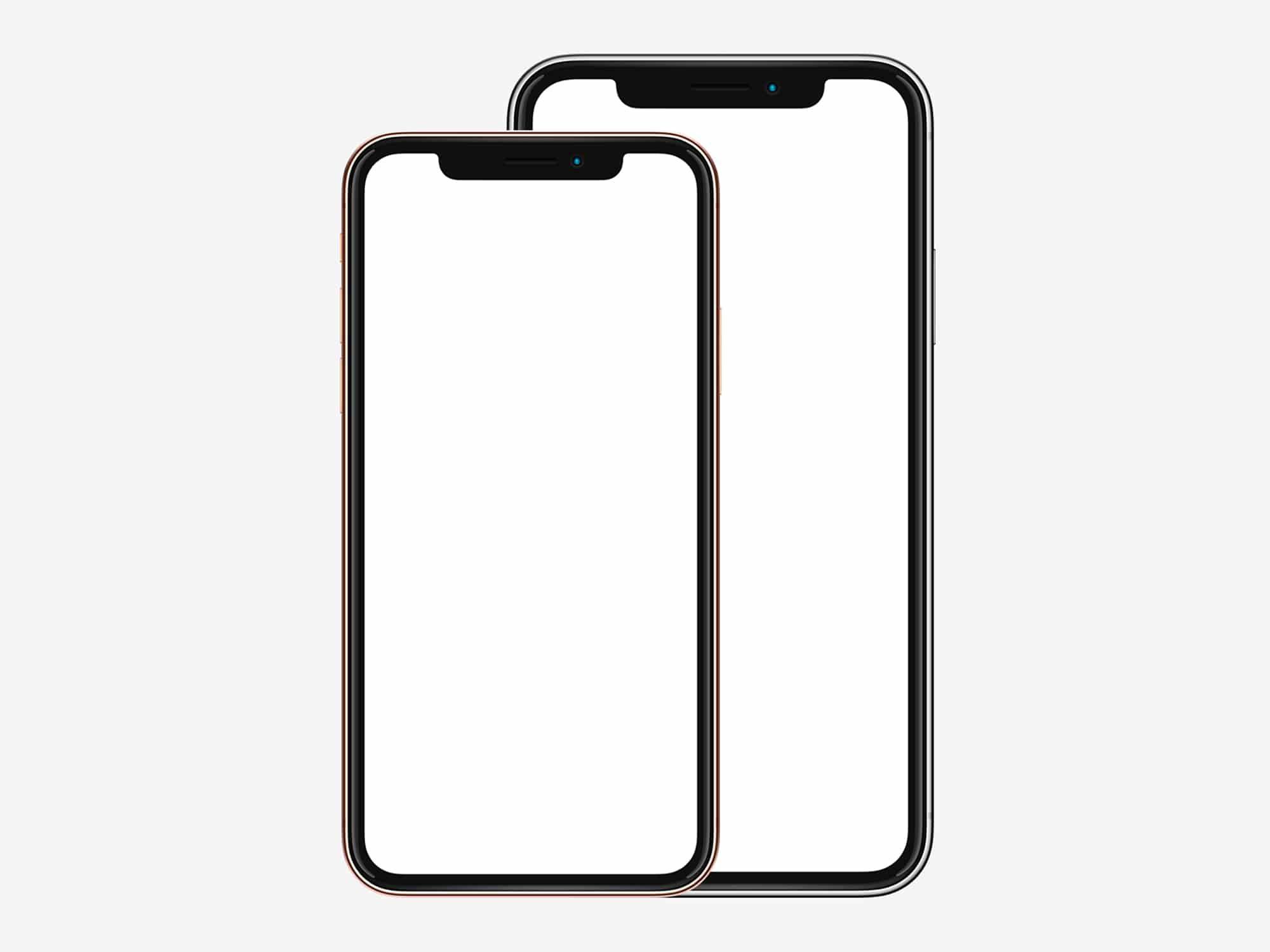 Iphone xs mockup free