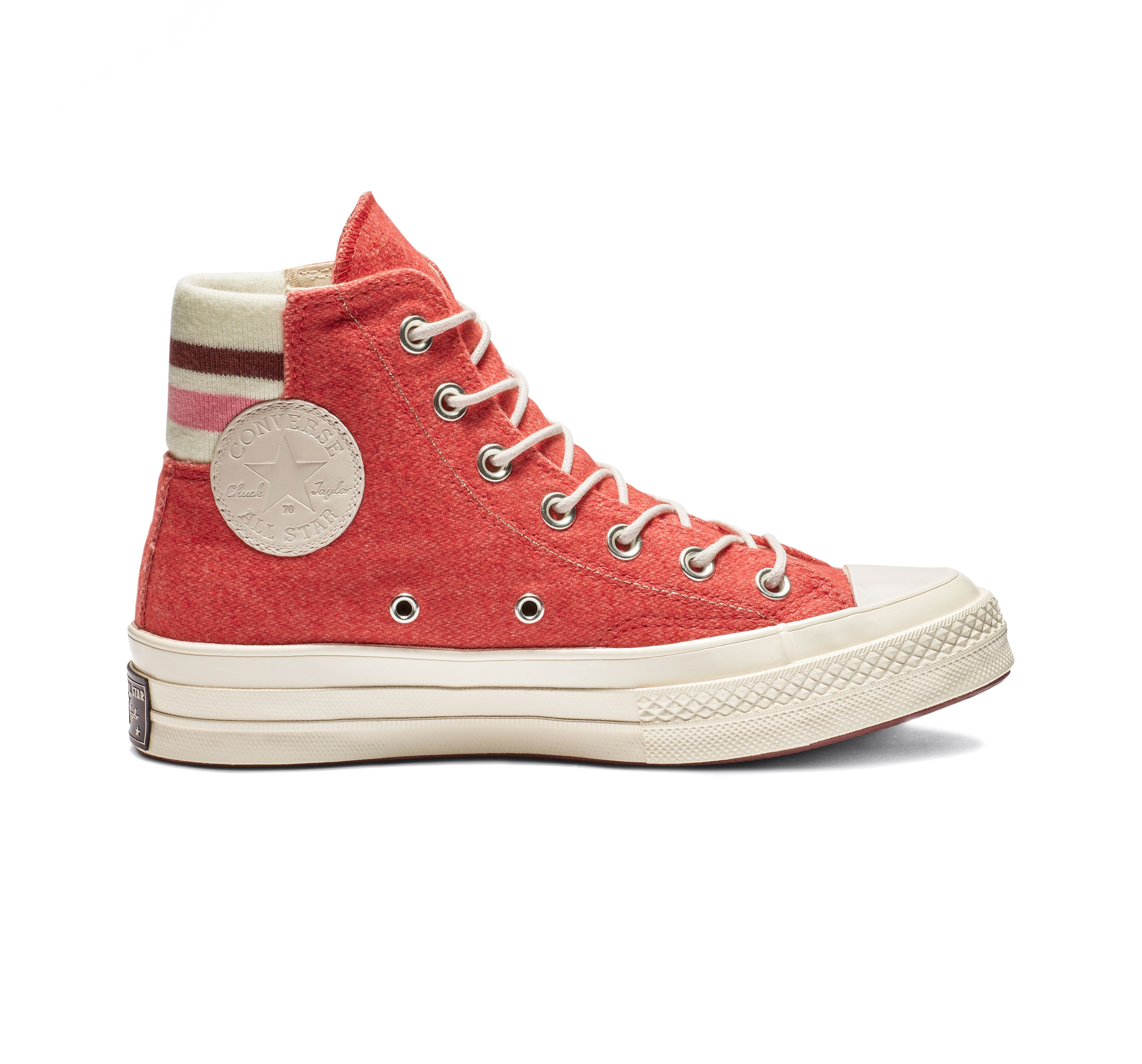 3d3477093e Chuck 70 Retro Stripe High Top in 2019 | Products | Red high tops ...
