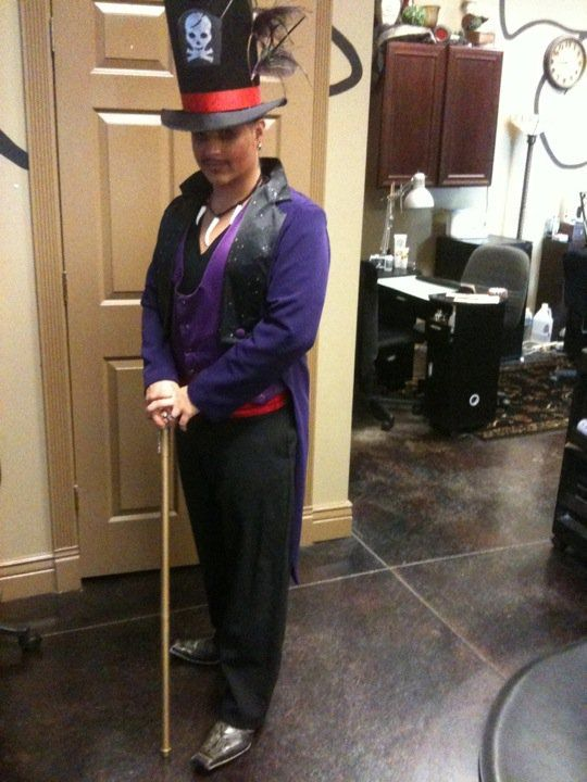 My Hubby As Dr Facilier Aka The Shadow Man From Princess And The