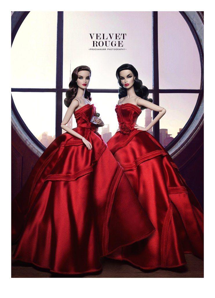 Fashion Royalty Jason Wu Fragrance Velvet Rouge Veronique